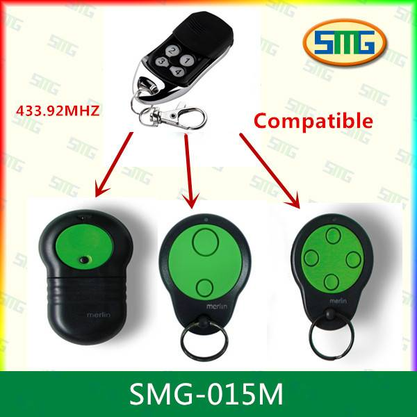 Replacement remote control keyfob for MERLIN M832 M842 M844 SMG-001M