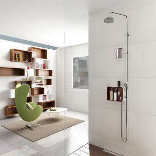 Puzzle-200 : Storage deck with Shower mixer set