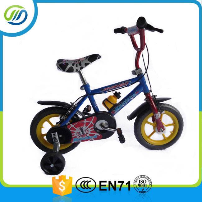 Steel spraying finish child bicycle
