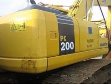 Original from Japan Komatsu Excavator PC200-7 PC200-6 PC220-6 PC220-7 20TON Excavator