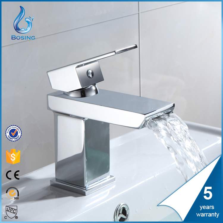 HIGH QUALITY BATHROOM WATERFALL FAUCET UPC BASIN FAUCET
