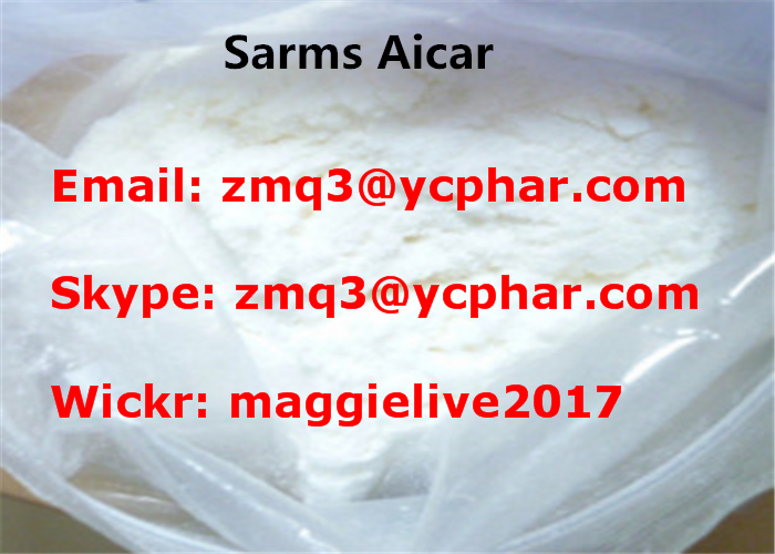 AICAR Powder Sarm Weight Loss Steroid Acadesine / Aicar For Bodybuilding Hormone Supplements