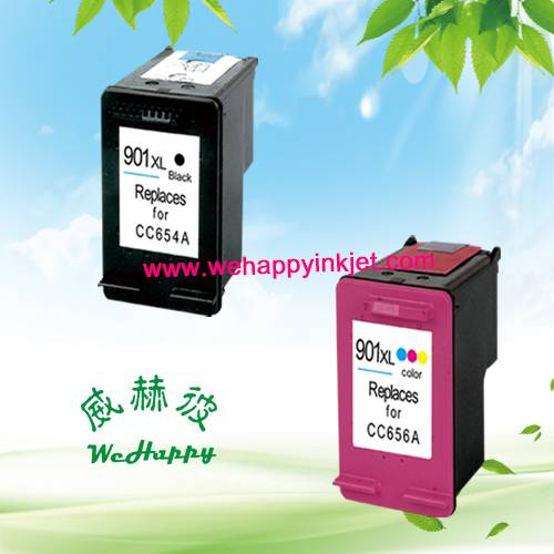 Speical price Remanufactured Inkjet Cartridges HP901XL,CC654A,CC656A
