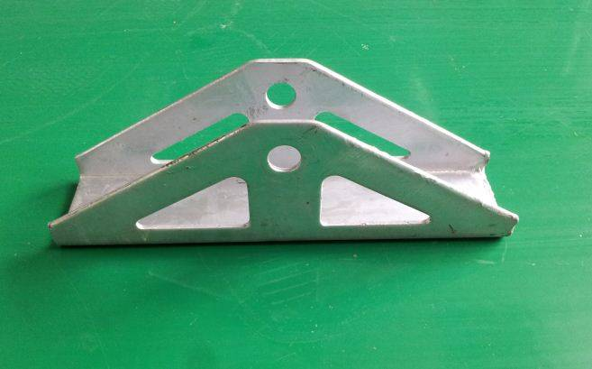 Steel solor bracket