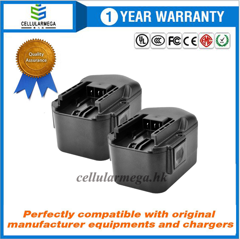 Milwaukee Rechargeable 14.4V High Capacity 2000mAh Replacement Power Tool Battery for Milwaukee 0514
