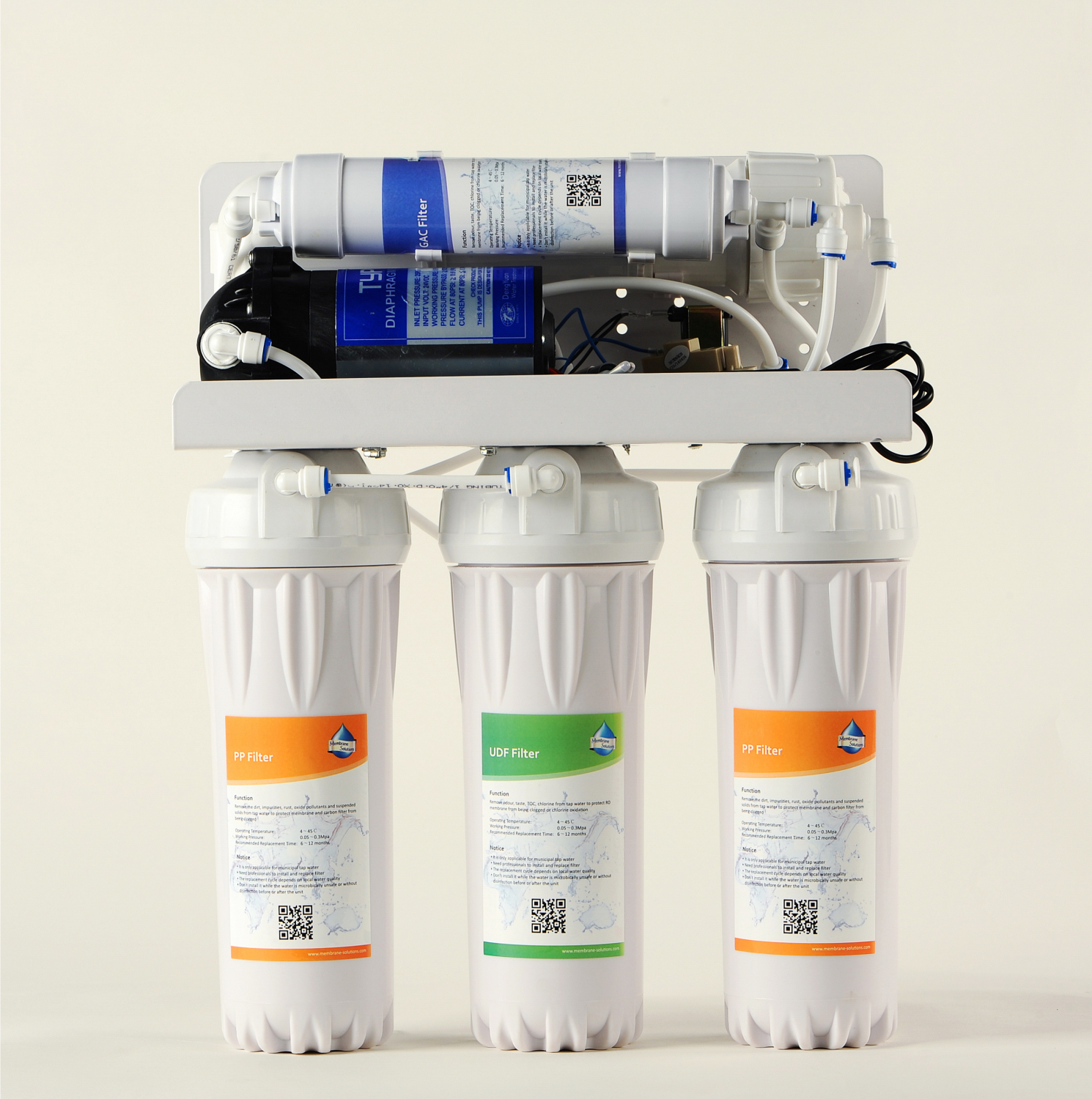 Membrane Solutions Simple Pure Kitchen RO Water Purifier