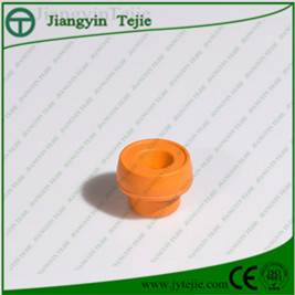 Medical rubber stopper for blood collection tube
