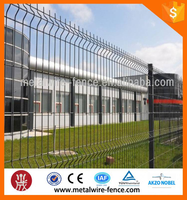 shengxin direct powder painting 3d curved wire fence/garden fence/mesh fence