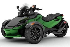 2012 Can-Am Spyder RS-S Trike Motorcycle