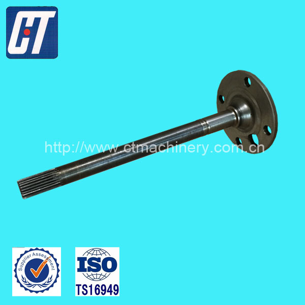 Customized Quality Splined Shaft Herical Shaft Rear Shaft