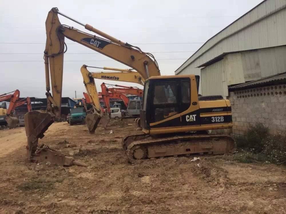 Used Japan Original Cheap and discount CAT 312B Crawler Excavator