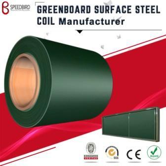 Precoated metal steel green chalk board