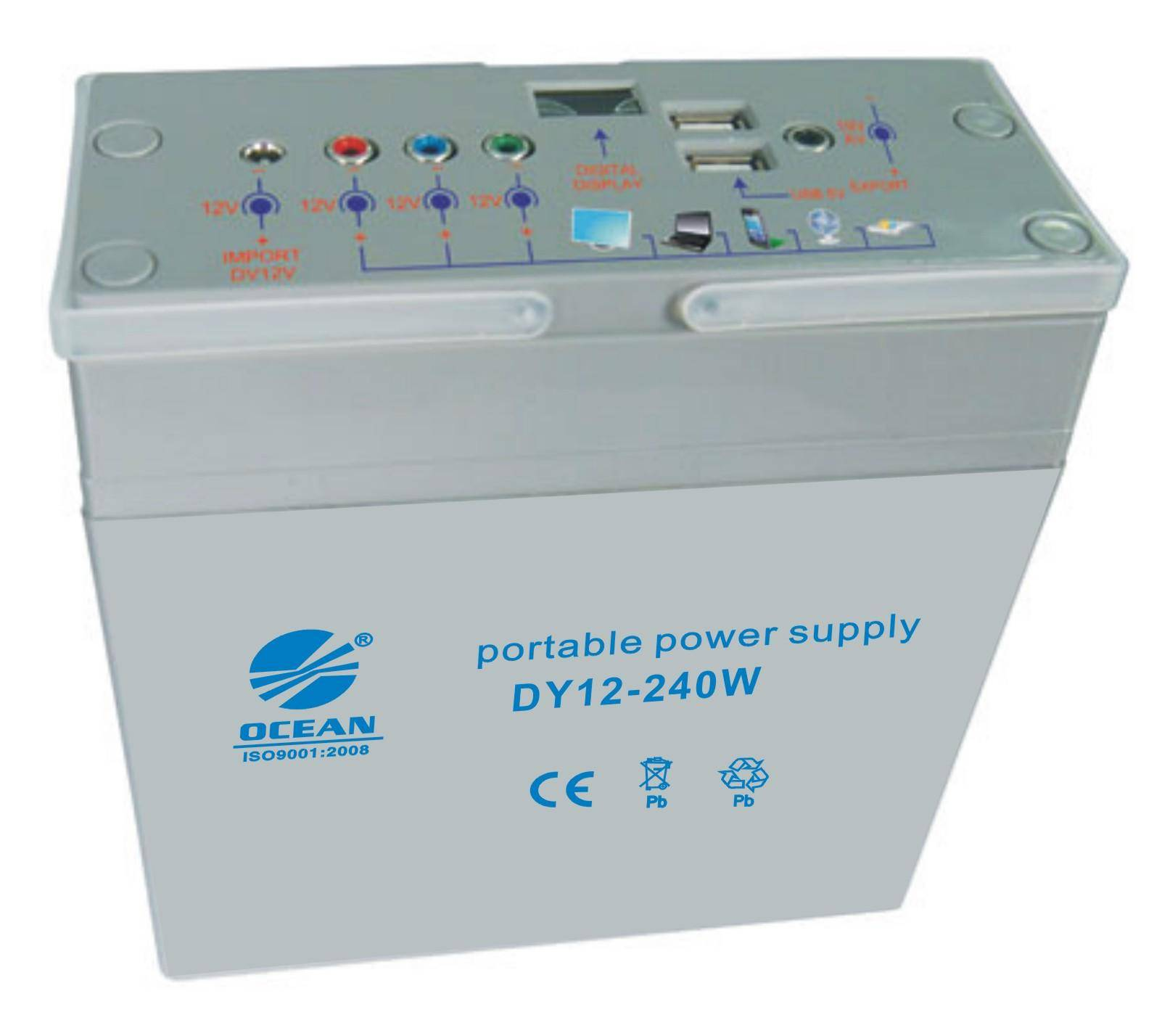 Solar power supply - DC 12V/240W