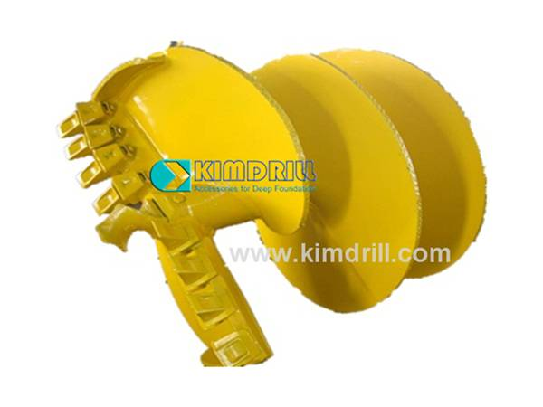 Clay Drilling Auger