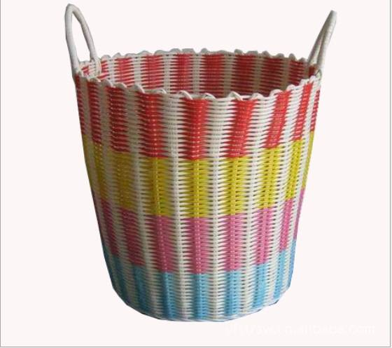 Sell laundy basket/PP woven basket/straw basket/storage basket