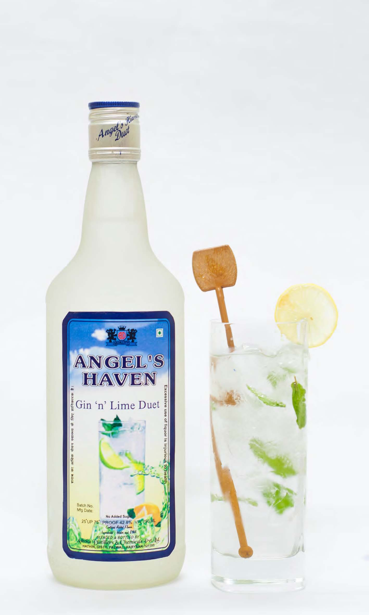 Angel's Haven Gin and Lime Duet