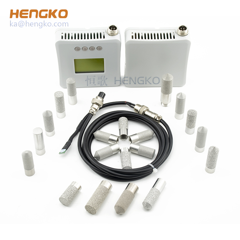 HENGKO waterproof porous housing for digital high temperature humidity digital humidity sensor sht75
