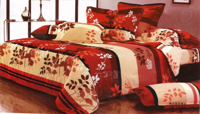 100% polyester pigment printing 65gsm fabric for bedding