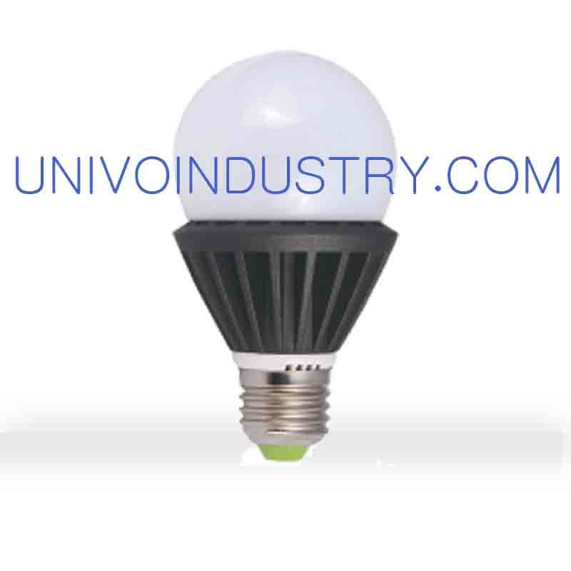 industrial or super market high quality white 12W/18W/30W/50W PP material LED bulb univo lighting