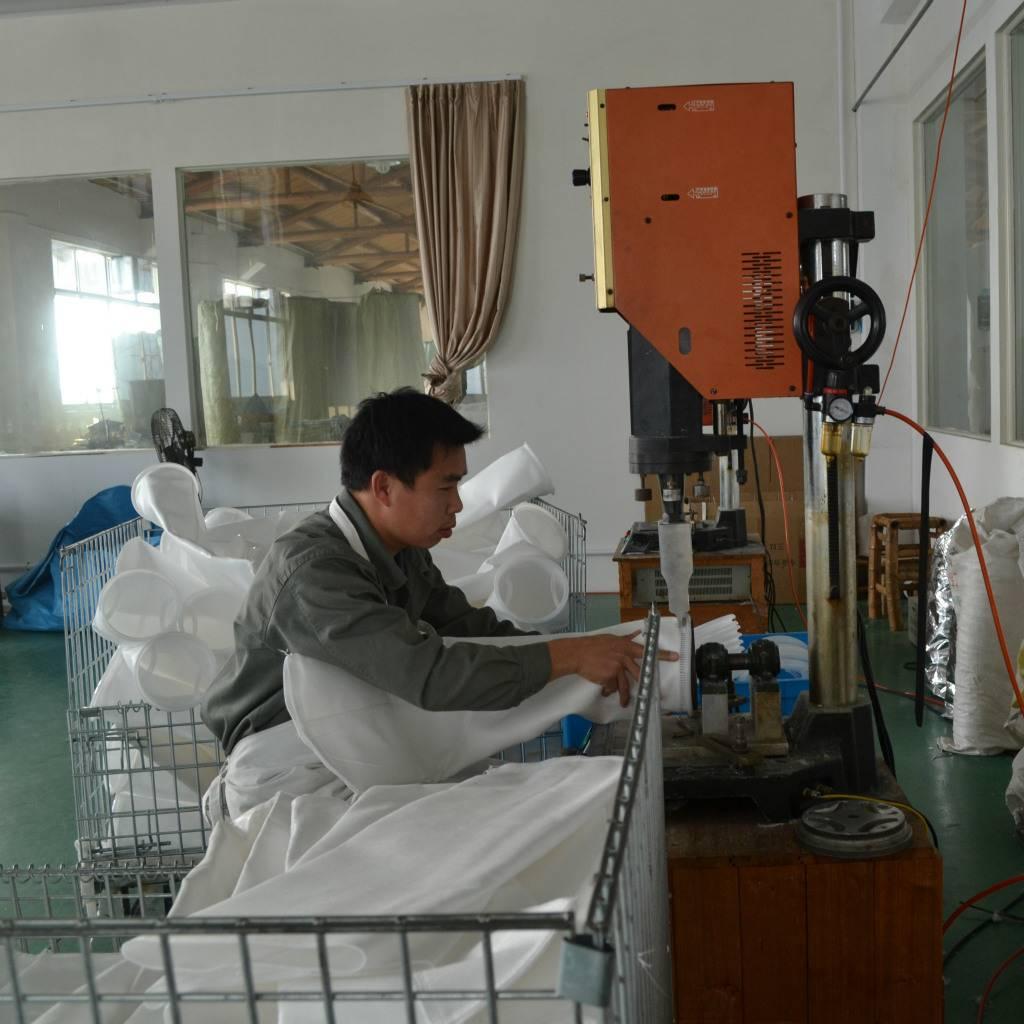 liquid filter bag welding machine