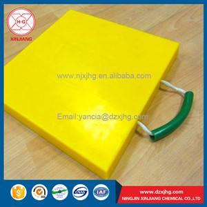 plastic anti-slip outrigger mat
