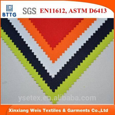 32*32 170gsm 100 cotton fire resistant f fabric