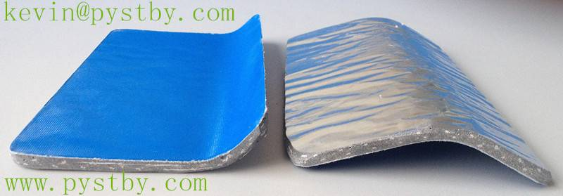 MgO aluminium foil heat insulation roofing sheet