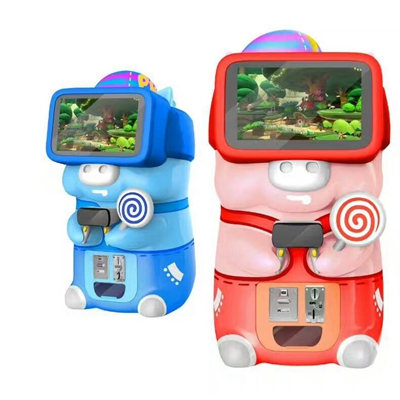 2017 Amusement Game Machine for Children VR 9D Video Game Machine Coin Operated Games