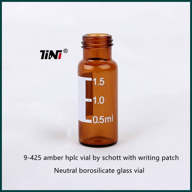 Best Price 2ml amber vial with writing patch