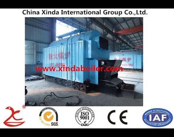 half-automatic practical industrial biomass boiler