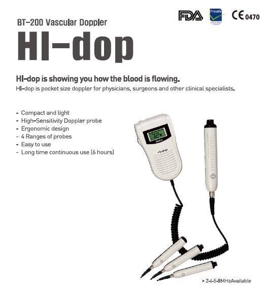 BT-200 Vascular doppler