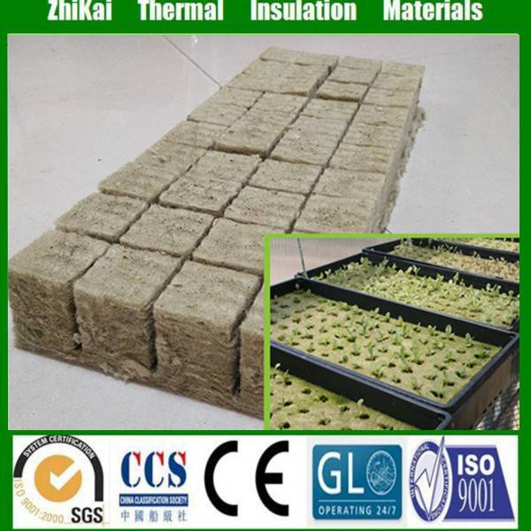 4x4x4cm greenhouse planting rockwool cubes