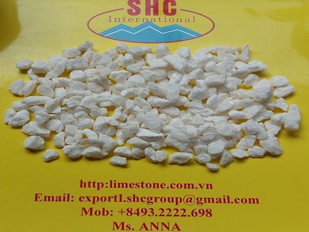 Crystal white stone chip