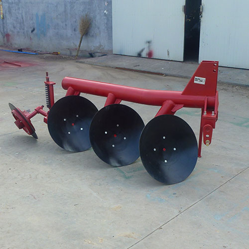tube-type disc plough