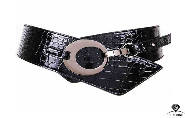 Super wide Girdle adjustable waist belts womens leather belt