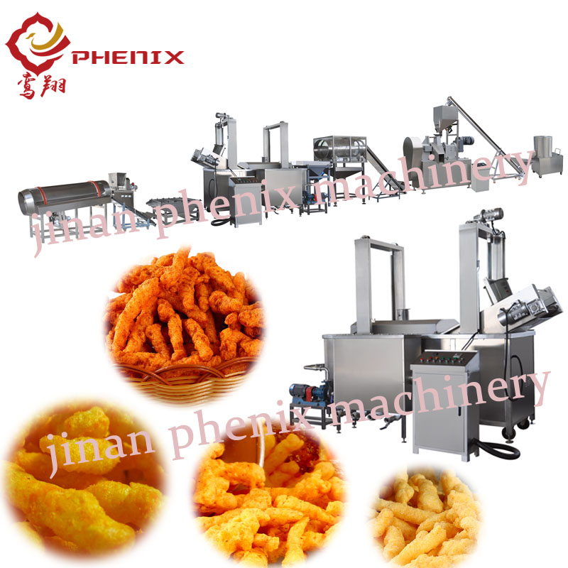 kurkure cheetos nik naks snack food extruder making machine