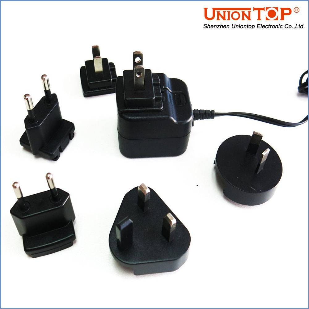 Universal 5V 1A ac dc power adapter 5V 1000ma with CE FCC