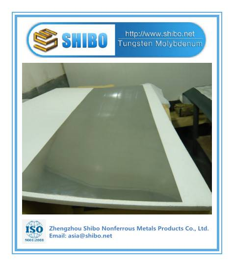 China Top Manufacturer High Purity 99.95% Mo Sheet with factory price