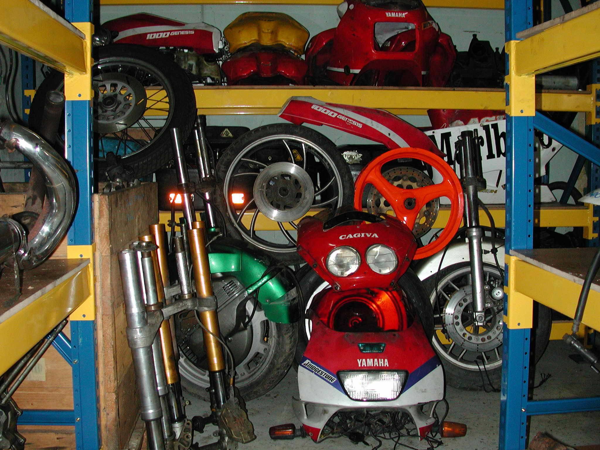 SCRAP MOTORCYCLES PARTS