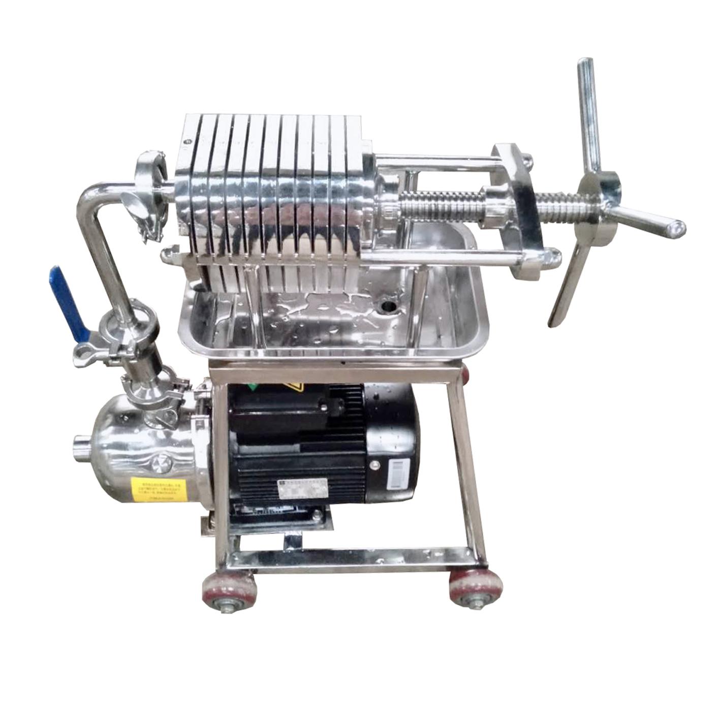 Coconut Oil Filter Press/Peanut Oil Filter Machine/Beer Filtration System Bas
