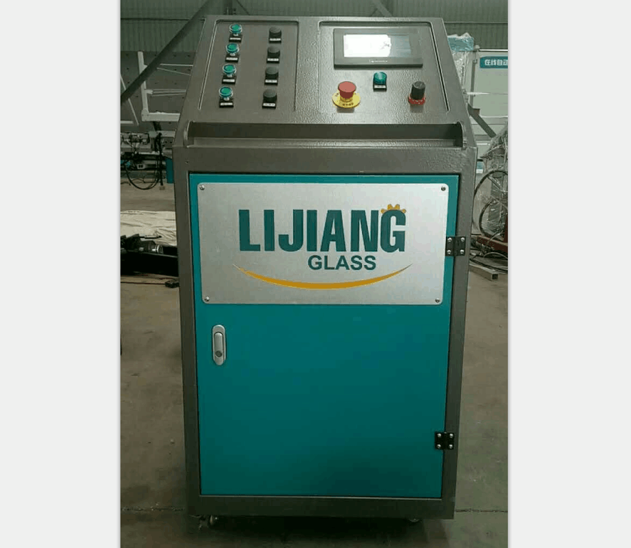 Argon gas filling machine for insulating glass