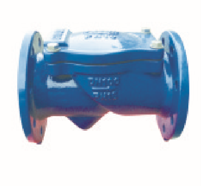 Rubber-seated check valves