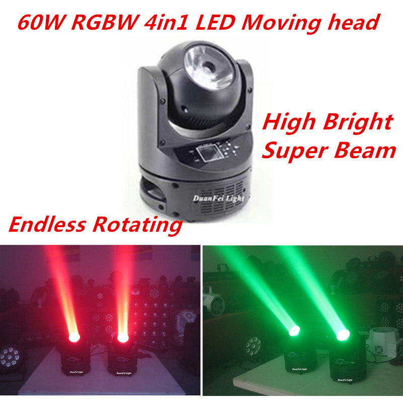 60W led moving head beam RGBW 4in1