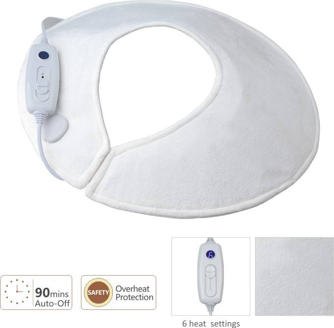 Heated Shoulder Pad With Soft Microplush