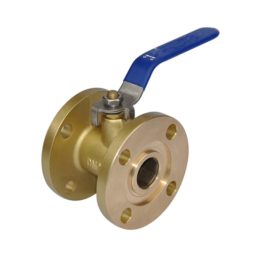 Flanged brass bronze Ball valve for power transformer