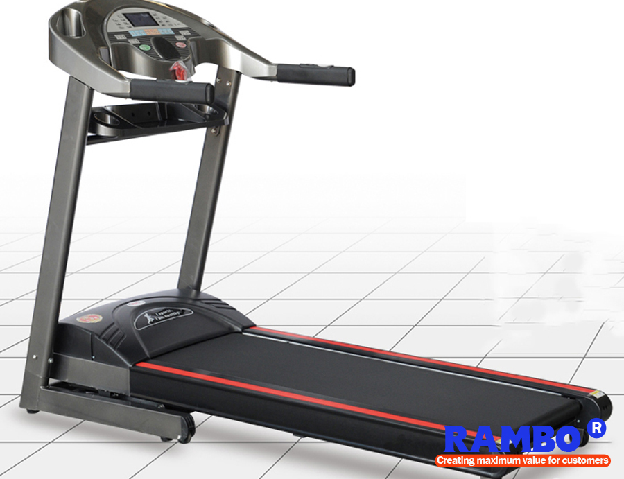 800 LCD Screen Luxury Home Treadmill Gym Equipment