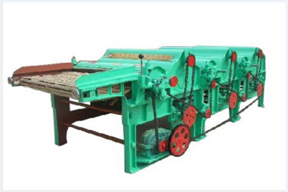 Three Roller Textile Waste Cleaning Machine