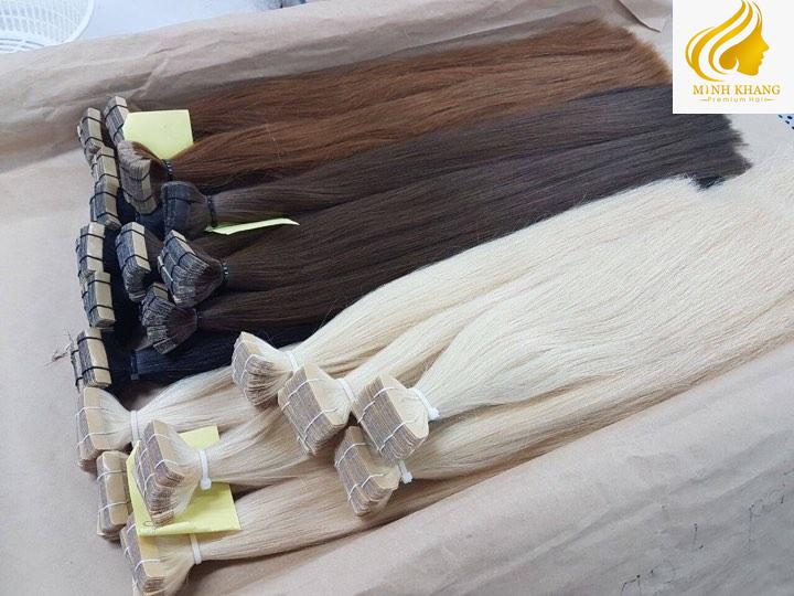 tape hair vietnamese virgin hair cuticle algined hair 100% human hair cheap price