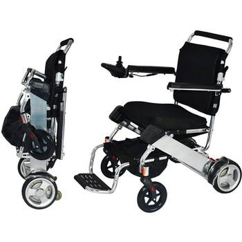 19kg lightweight foldable power wheelchair