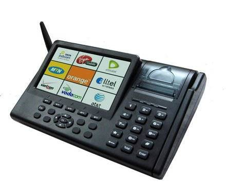 Mini POS--7inch  All In One GPRS Touch POS